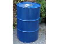 Oil Barrel 200l Incinerator / BBQ Barbecue - Ascot Berkshire