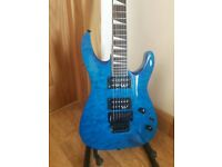 Electric Guitar Jackson JS32Q Blue