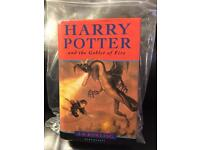 First Edition - Harry Potter and The Goblet of Fire