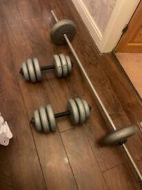 Adjustable Gym weights set