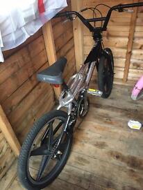 Alloy Kawasaki bike