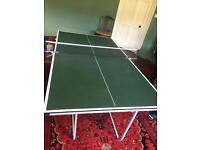 Junior 3/4 size table tennis table