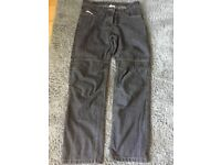 RST Ladies motorbike Black jeans, size M in excellent condition