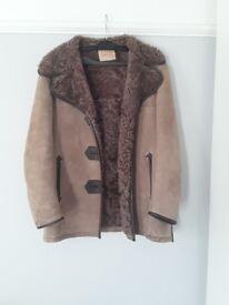 100% virgin lambs wool coat
