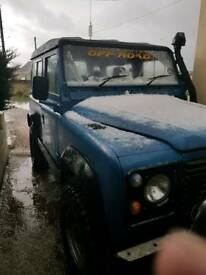 Defender with 300tdi engine