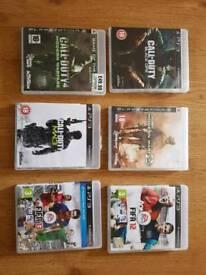 PS3 Fifa & CoD.
