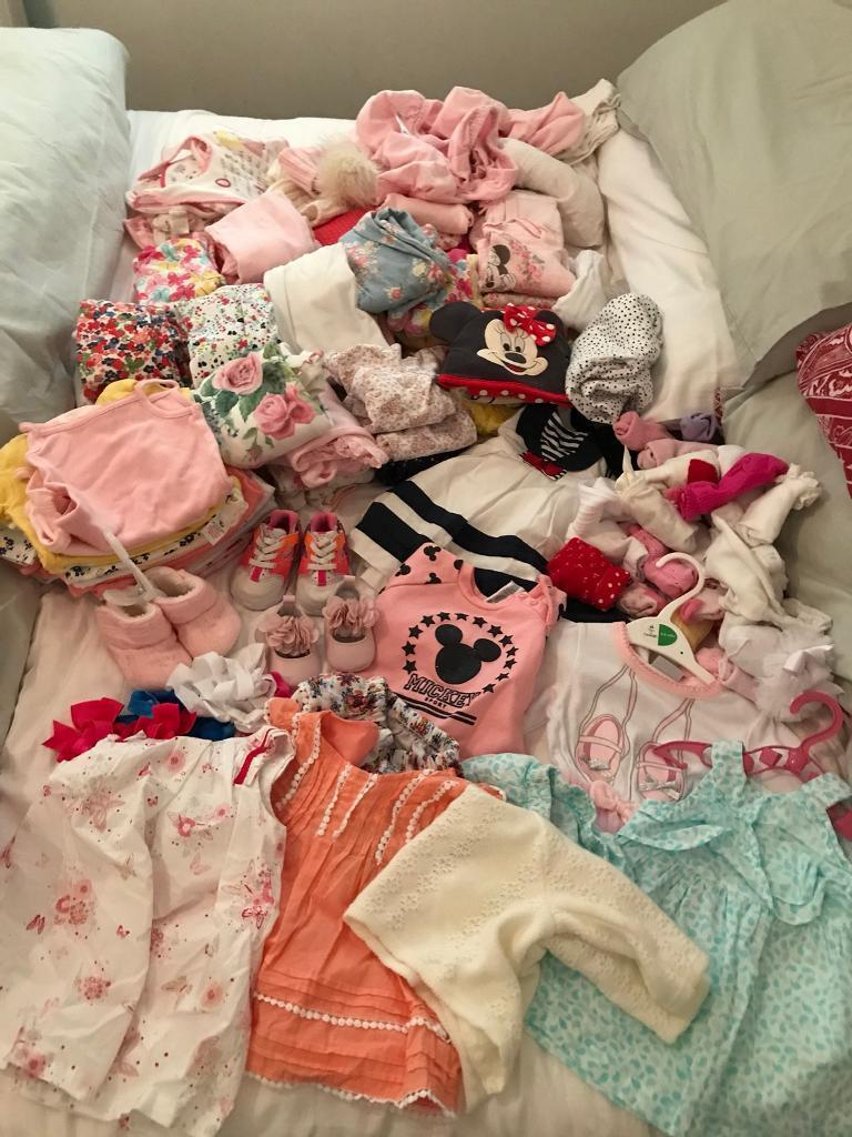 Baby girls items over 100 items