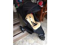 Phil and Teds pushchair with accessories