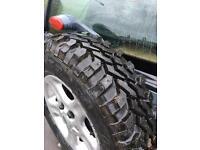Freelander off road wheels