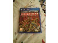 ps4 game teenage mutant ninja turtles