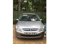 Peugeot 307 1.6 petrol spares or repair