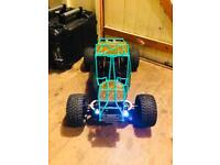 1/5th petrol rc car
