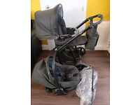 Stylish BÉBÉCAR IP-oP Complete Travel System - Very Good Condition