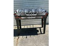 Multi function football table