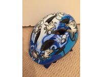 Blue bike helmet (2-4 year olds) - great condition