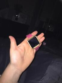 Fitbit blaze limited edition pink and gold