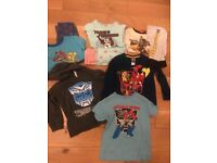 Transformers clothing bundle age 4