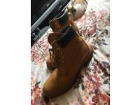 Timberlands size 10