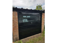 Lock up garage for sale on Stonehouse estate Coventry