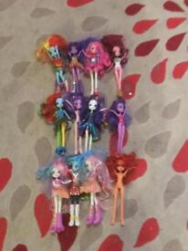My Little Pony Equestria Girl Dolls Job Lot