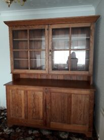 Antique welsh dresser pitch pine