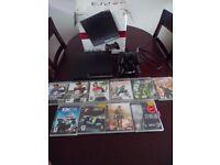Sony PlayStation 3 Slim 120 GB bundle 12 games