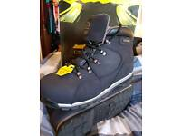 Groundwork Safety Steel Toe Cap Boots (SIZE 10)