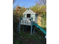 TP Wooden Playhouse with Slide
