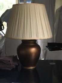 Elegant antique lamp from Harrods