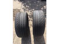 2x Uniroyal Rainsport 3 Tyres 255 55 R19