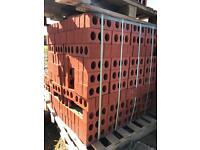 Bricks Ibstock facing. Surrey county red 3packs of 500