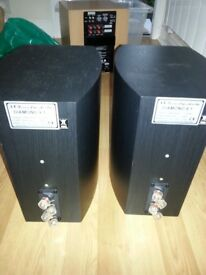 Wharfedale Diamond 9.1 speakers