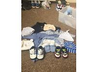 New born and up to 1 month baby boy bundle