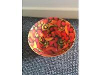 Funky fruit bowl, brilliant for BBQs