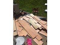 Loads of free laminate flooring