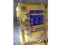 Multipurpose concrete. X5 20kg bags. Unopened