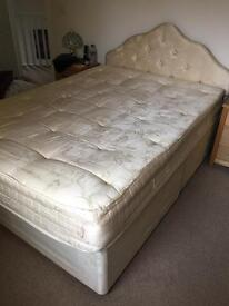 Double bed with one mattress