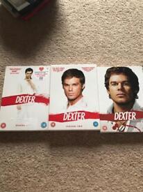 Dexter season 1-3