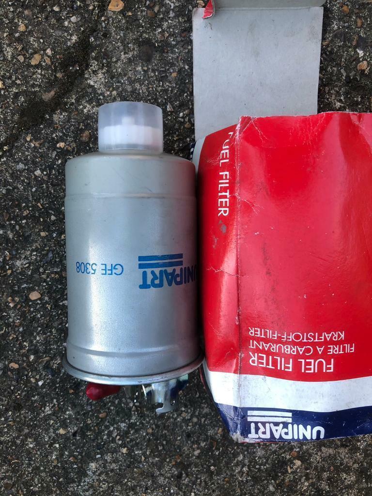 2 x gfl5308 vw diesel fuel filters