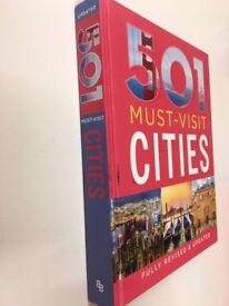 501 Must-Visit Cities by A. Findlay, D. Brown, J. Brown (Hardback, 2016)