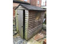 Timber shed - good condition