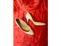 Russell & Bromley white high-heeled shoes - Urgent sale! Moving overseas