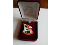 Robertsons Leukemia Research Golly Badge (Sara's Badge) 1455 of 10,000 Limited Edition