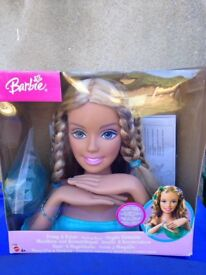 Barbie styling head ( collectors )