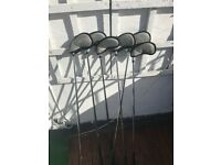Full Set of Golf Clubs, G10 drivers, Bag and travel Cover