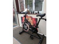 Jll exercise bike brand new never used only taken out box and assembled