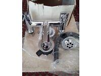 Brand new Solid brass Cromo bath mixer