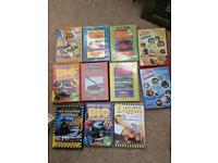 Mega machines magic of making digger educational DVDs