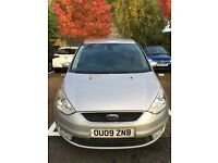 Ford Galaxy Ghia 2.0 TDCI with detachable towbar, owned by a doctor, 2 owners from new