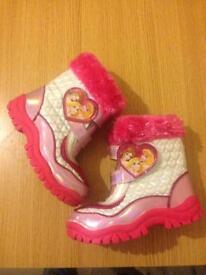 Girls Disney princess boots